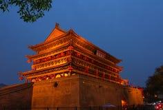 Van Xi'angulou– – Xi'an de Trommeltoren Royalty-vrije Stock Foto's