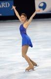 Van yu-Na KIM (KOR) het vrije schaatsen Royalty-vrije Stock Afbeelding