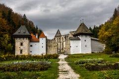 Van Zickakartuzija (zice charterhouse) het Kartuizer klooster Sloven Royalty-vrije Stock Afbeelding