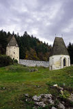 Van Zickakartuzija (zice charterhouse) het Kartuizer klooster sloven Stock Afbeeldingen