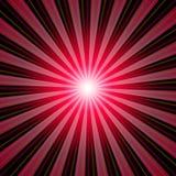 Van zonnestralen rode zwarte als achtergrond 01 Royalty-vrije Stock Fotografie