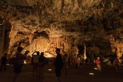 Van Zyl Hall στις σπηλιές Cango Στοκ φωτογραφία με δικαίωμα ελεύθερης χρήσης