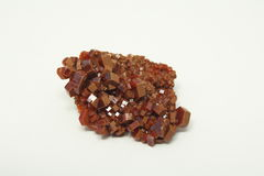 Vanadinite Royalty-vrije Stock Foto