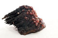 Vanadinite Arkivfoto