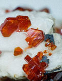 Vanadinite Arkivbilder