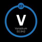 Vanadium chemical element Stock Images