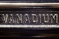 Vanadium Royalty Free Stock Photography