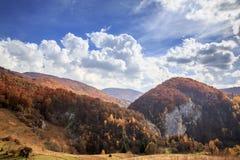 Vanatarile Ponorului. Fall on Bedeleu Mountains, Alba county, Romania, Vanatarile Ponorului Royalty Free Stock Image