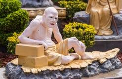 Vanavasin στον κήπο Arhat στο βουδιστικό ναό Lai του, Καλιφόρνια Στοκ εικόνα με δικαίωμα ελεύθερης χρήσης