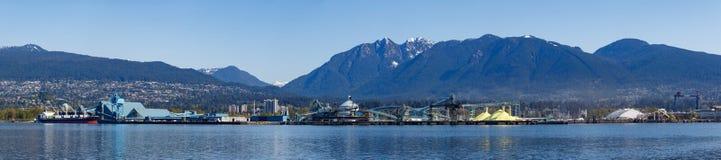 Vancôver, Canadá - cerca de 2018: Indústrias nortes da costa Imagem de Stock Royalty Free