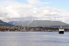 Vancôver do centro, Columbia Britânica em Canadá Fotografia de Stock