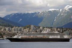 Vancôver do centro, Columbia Britânica em Canadá Imagem de Stock Royalty Free