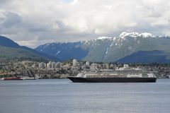 Vancôver do centro, Columbia Britânica em Canadá Fotos de Stock