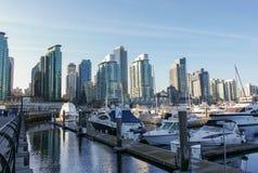 Vancôver do centro, Columbia Britânica, Canadá Imagens de Stock Royalty Free