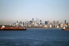 Vancôver do centro, Columbia Britânica em Canadá Foto de Stock