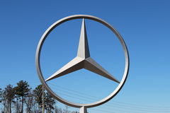 VANCE, AL-CIRCA JANUARY 2015: Mercedes Benz has started production of its new C Class sedan at the Alabama manufacturing complex. royalty free stock photography