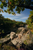 Vanchin flod. Kanjon 4 Royaltyfria Bilder