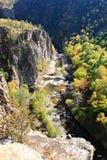 Vanchin Fluss. Herbst. 2 Stockbild