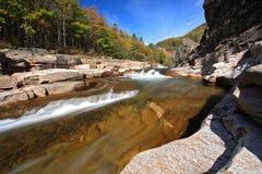 Vanchin river. Autumn. Stream 4. Stock Photography