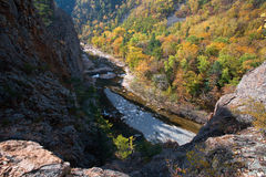 Vanchin river. Canyon 2 Royalty Free Stock Photos