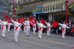 Vancouver's农历新年游行 免版税库存图片