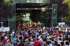 Vancouver's每年爵士节 免版税库存图片