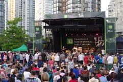 Vancouver's International Jazz Festival Royalty Free Stock Image