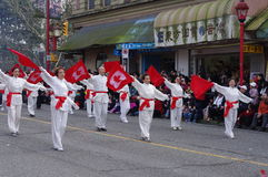 Vancouver's ståtar det kinesiska nya året Royaltyfria Bilder