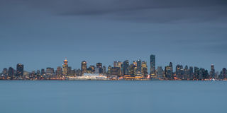 Vancouver´s skyline Royalty Free Stock Photo