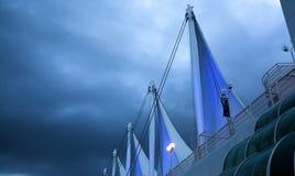 Vancouver à l'aube Image stock
