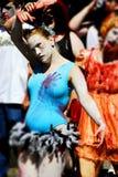 vancouver 2008 går zombien Royaltyfri Bild