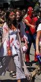 vancouver 2008 går zombien Royaltyfria Foton