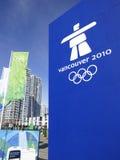 Vancouver 2010 Olimpiadas Fotos de archivo