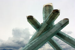 Vancouver 2010 Olympic Cauldron Royalty Free Stock Image