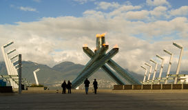 Vancouver 2010 Olympic Torch Royalty Free Stock Image