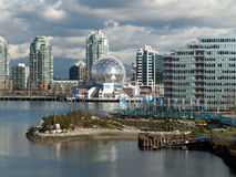 Vancouver 2010 - Olympic Village Stock Photo