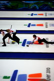 Vancouver 2010 olympische Winter-Spiele Stockfotos
