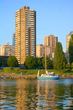 Vancouver. Welcome the City of Vancouver, home of the 2010 Winter Olympics Royalty Free Stock Photos