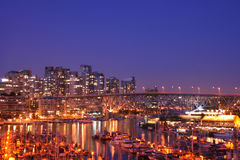 Vancouver. Welcome the City of Vancouver, home of the 2010 Winter Olympics Stock Image