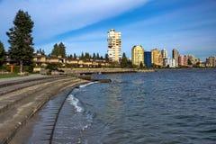 Vancouver ad ovest Quay del centro Fotografie Stock Libere da Diritti