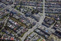 Vancouver Aerial Royalty Free Stock Images