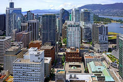 Vancouver, aerial view Stock Photos