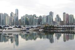 Vancouver andelslägenheter Royaltyfria Bilder