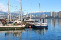 Vancouver Aquabus fotos de archivo