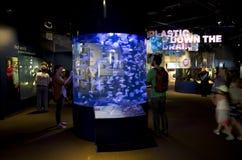 Vancouver Aquarium education center stock images