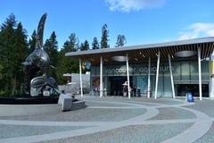 Vancouver-Aquarium in Stanley Park stockbild