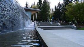 Vancouver-Aquarium in Stanley Park stock video
