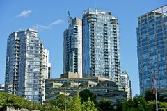 Vancouver Architecture Royalty Free Stock Photo