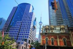 Vancouver arkitektur - Kanada Arkivbilder