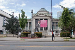 Vancouver Art Gallery Canada Stock Photo